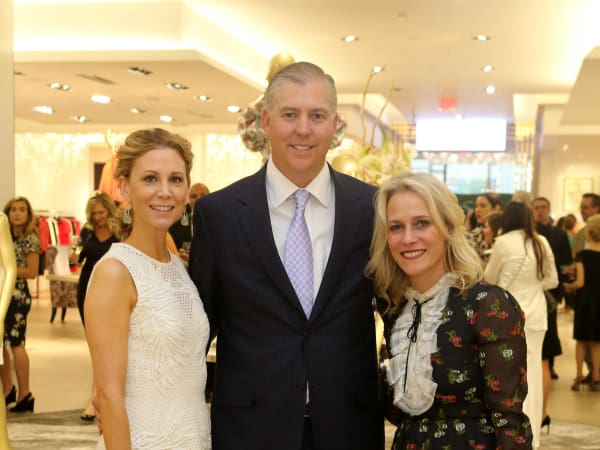 Saks MD Anderson benefit 4/16, Courtney Hill Fertitta, Jason Fertitta, Tracy Margolies