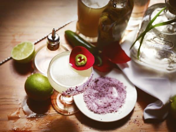 Rosa Picante Patron Tequila Jordan Corney's Margarita of the Year