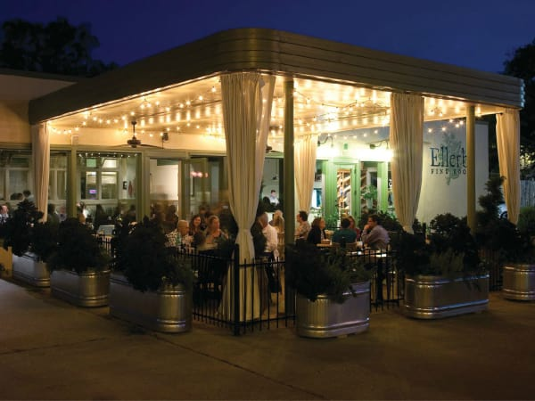 Ellerbe Fine Foods Fort Worth patio Magnolia