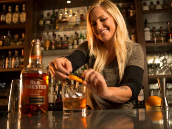 Old Forester Jackie