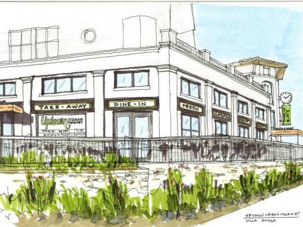 Uptown Urban Market rendering