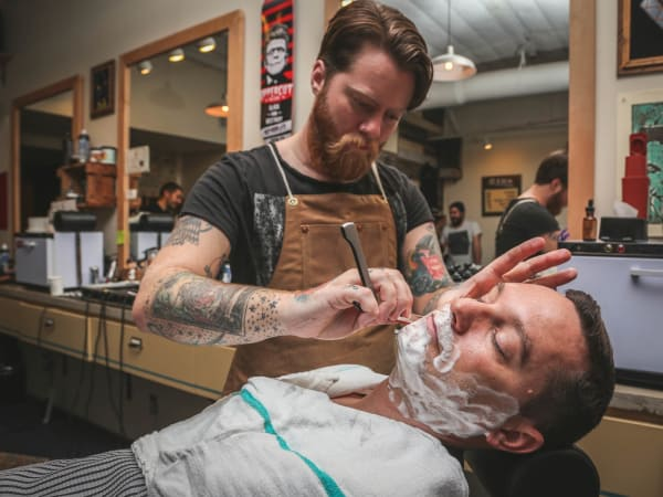 SHED Barbershop Service Industry Night CultureMap Austin