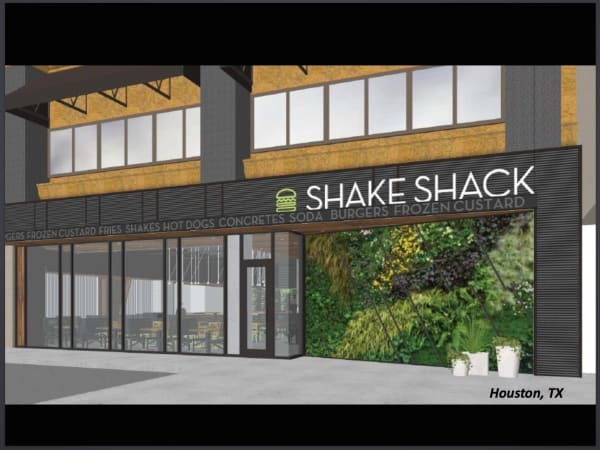 Shake Shack Houston rendering