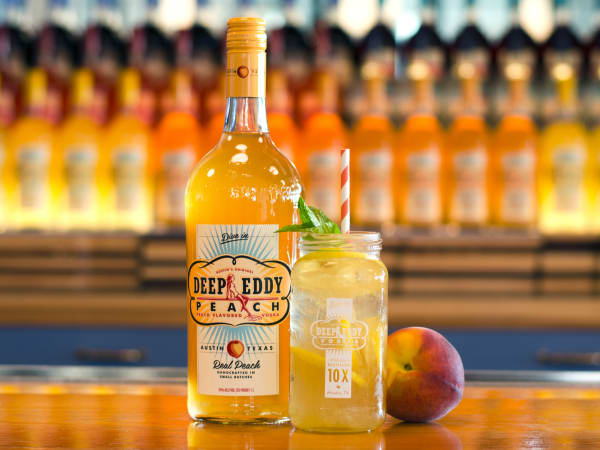 Deep Eddy Vodka Peach flavor peach lemonade cocktail drink 2016