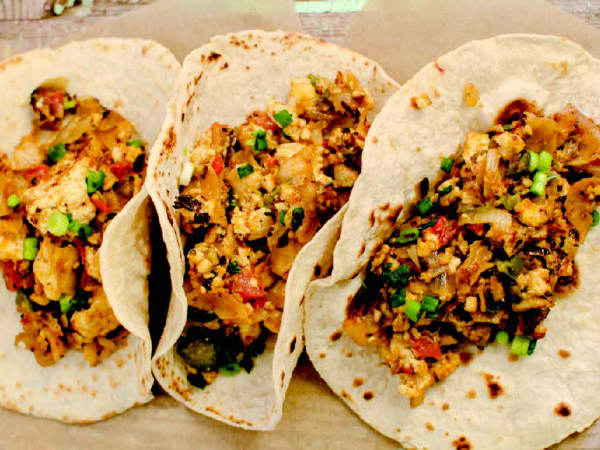 The Taco Cleanse book Mighty Migas recipe