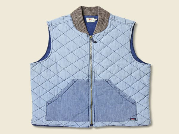 Stag Faherty Chambray Vest
