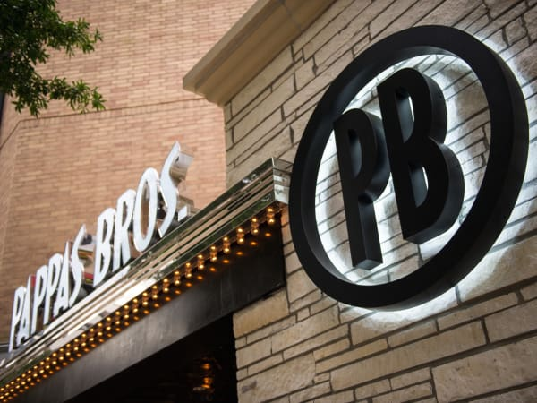 Pappas Bros Steakhouse downtown logo