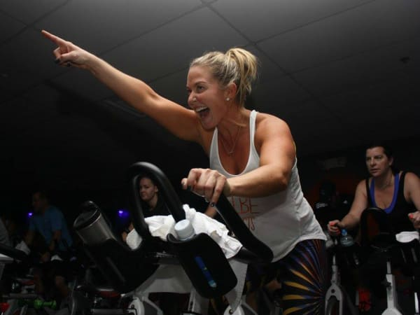 JoyRide Cycling Studio indoor bike cycle instructor 2015