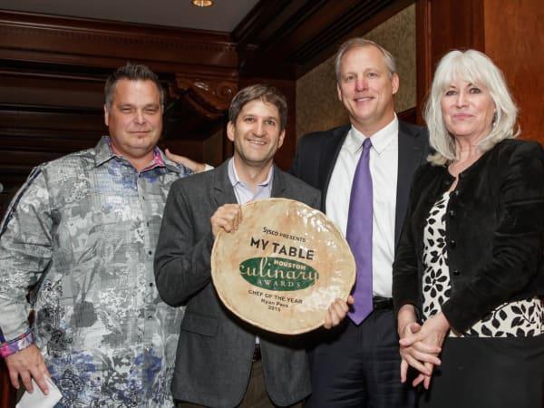 Houston Culinary Awards 2015 Ronnie Killen Ryan Pera