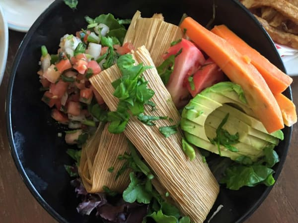 Vegeria Vegan Tex-Mex & American Cuisine San Antonio restaurant vegan tamales