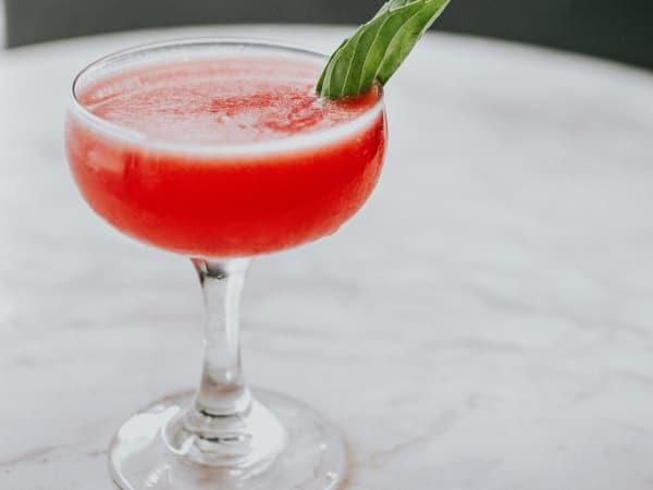 Summer Sonato cocktail at Garage Austin