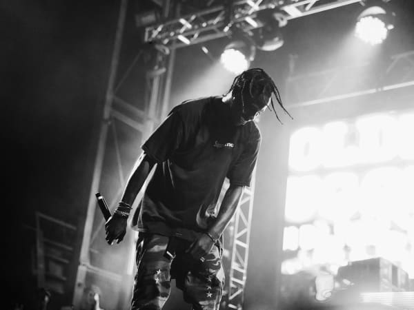 Travis Scott performs at the 2016 Mala Luna Fest.