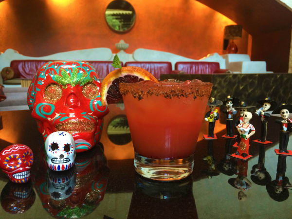 Cork Bar Day of the Dead cocktail