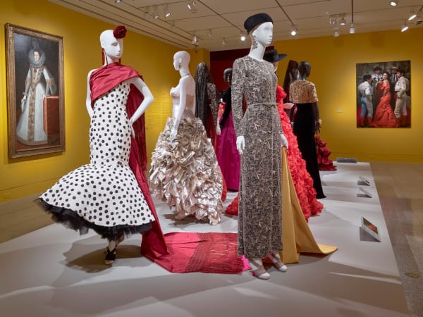 Oscar de la Renta MFAH exhibition Spanish influenced dresses
