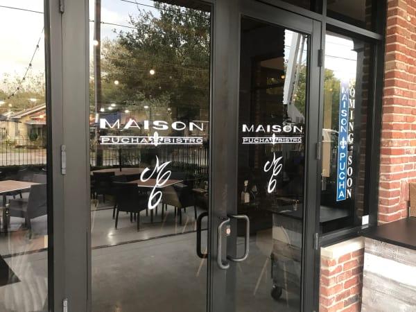 Maison Pucha Bistro front door