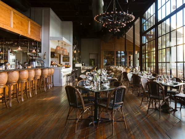 Emmaline restaurant dining room interior