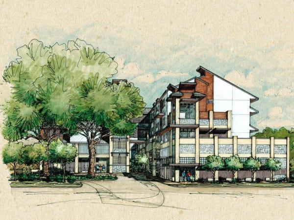 Housing First Oak Springs Integral Care