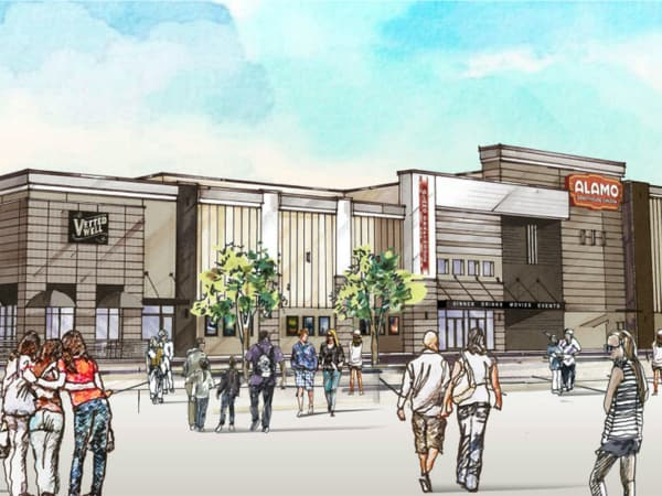 Rendering of Alamo Drafthouse North Richland Hills