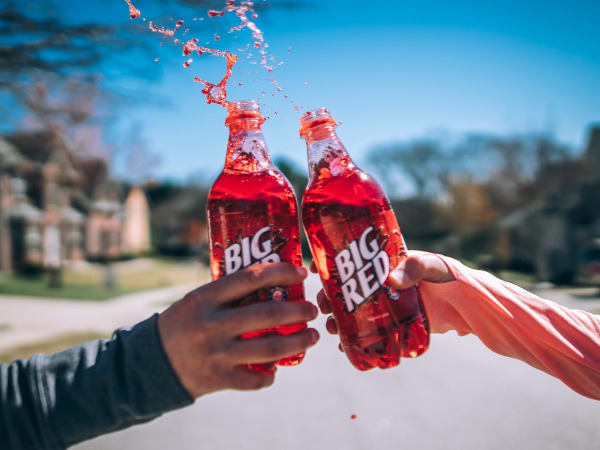 Big Red cheers