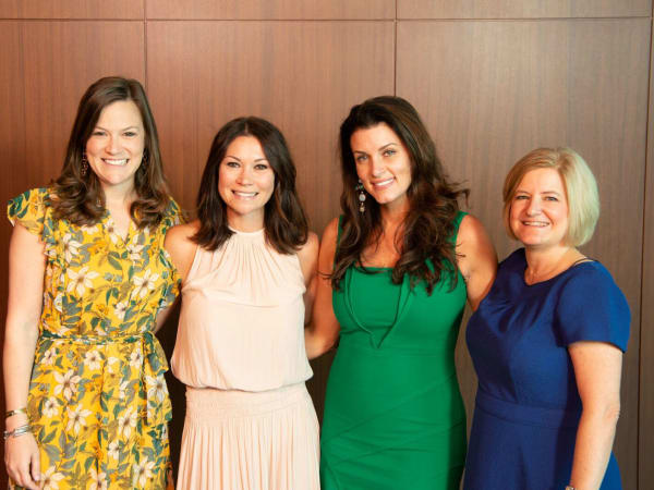 Houston CanCare Survivors Luncheon Jennifer  Doherty,  Megan  Vondra,  Jordan Seff Cristina  Vetrano