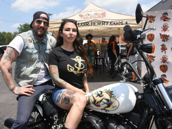 Anthony Bohlinger, Ashley Marsh, Harley Davidson