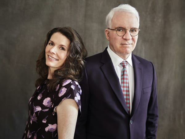 Edie Brickell and Steve Martin