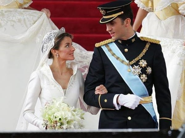 Queen Letizia, King Felipe of Spain