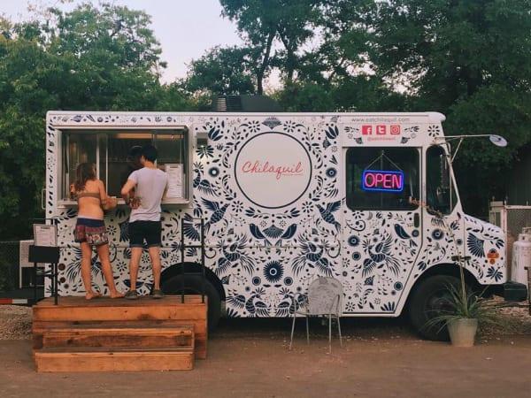 Chilaquil food truck ATX