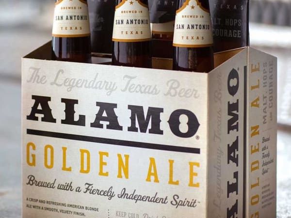 Alamo Beer Company six pack