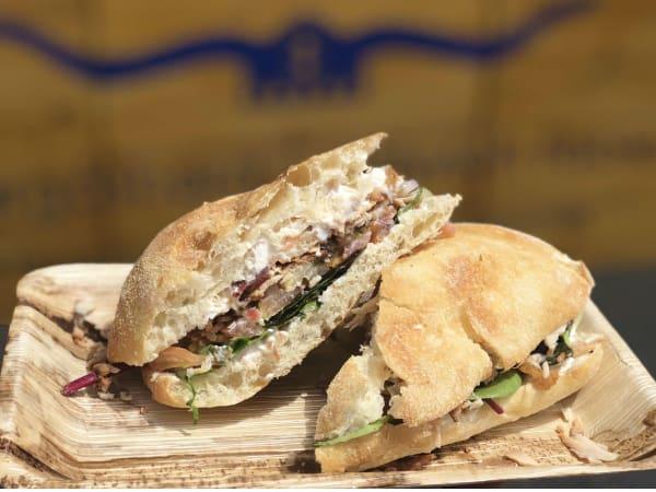 Smorgasbord sandwich