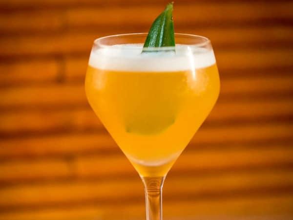 Pineapple Daiquiri Summer Cocktail