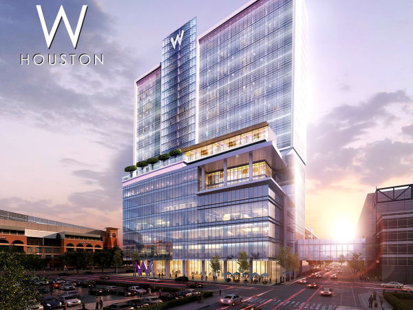 W Hotel downtown proposed rendering