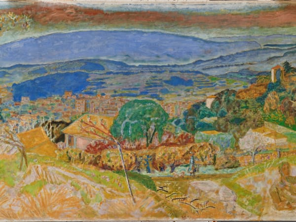 Kimbell art museum, Bonnard, Landscape at Le Cannet