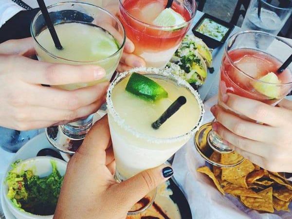 Z'Tejas margaritas cheers