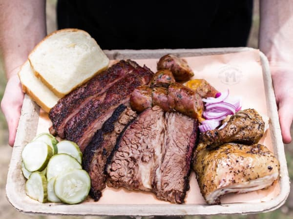micklethwait craft meats barbecue austin platter