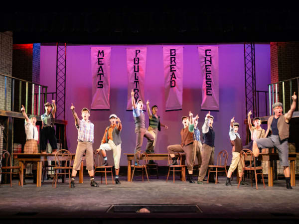 The Public Theater of San Antonio presents Newsies