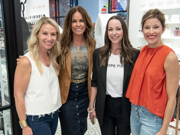 Annamarie Lannon, Carrie Barnes, Melissa Ireland, Lindsey Mathias