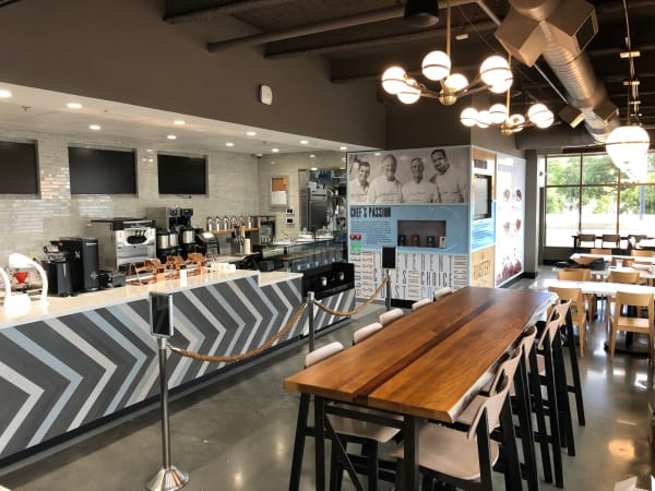 The Roastery Bellaire HEB interior