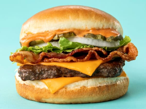 Drive-Thru Gourmet - Wendy's S'Awesome cheeseburger