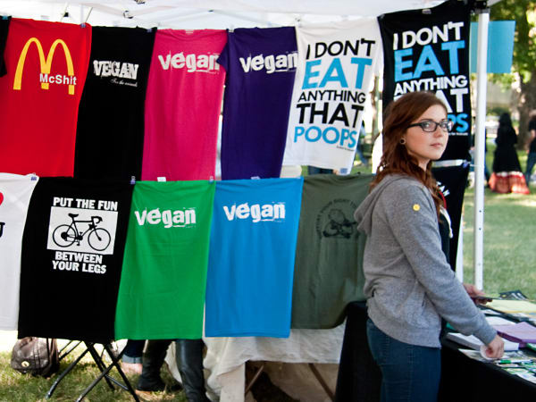Texas Veggie Fair, shirts