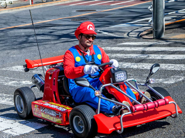 mario kart live action mario mushroom race live action