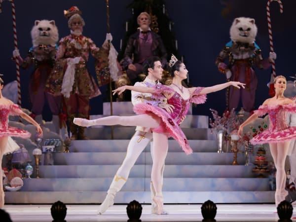 Houston Ballet: Nutcracker, Nozomi Iojima, Connor Walsh