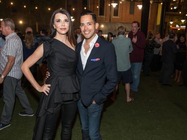 Lindsay Jacobs, Carlos Guzman