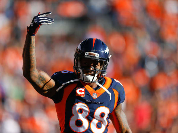 DeMaryius Thomas Houston Texans Denver Broncos