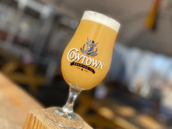 Cowtown Brewing cookie dough pairing