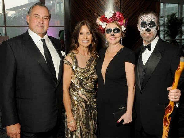 Ronald McDonald House Boo Ball Anthony Milam, Stephanie Milam, Mickie Minor, Lee Minor