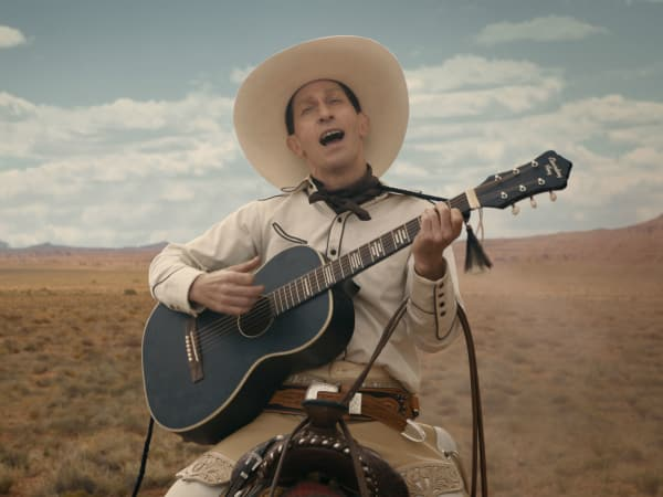 Tim Blake Nelson in The Ballad of Buster Scruggs