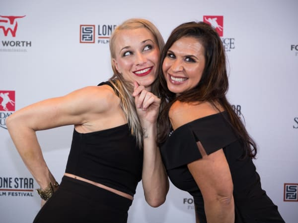 Jessica Spawn, Alice Martinez, Lone Star Film Festival Ball