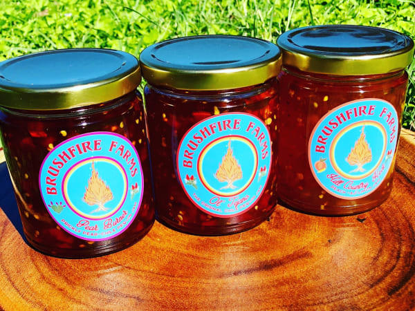 Brushfire Farms jams preserves