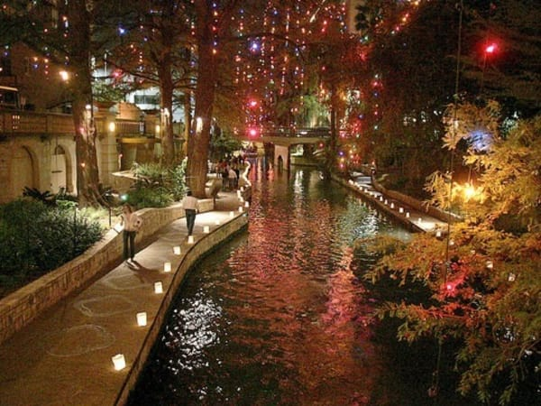 Ford Fiesta de Luminarias River Walk Holiday Christmas